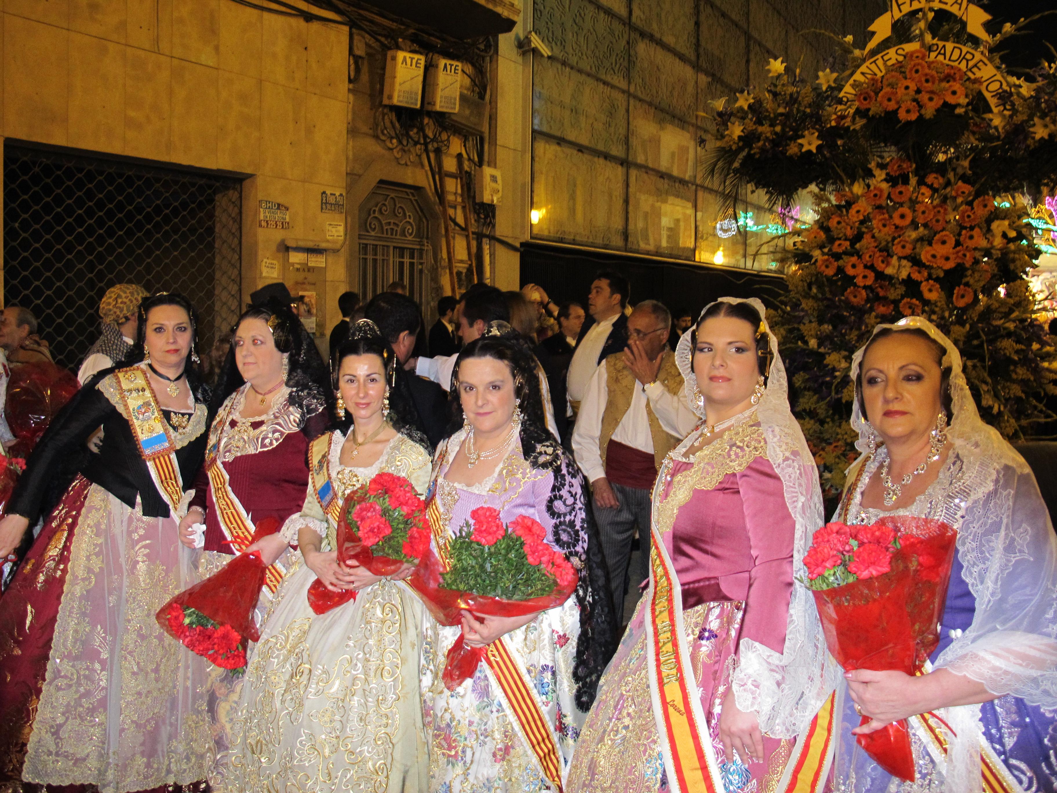 Costumi tradizionali Fallas di Valencia